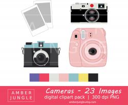 Camera Clipart Instant Download Camera Clip Art Photography