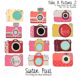 Bright camera clip art. Ohh lala.   Printable Clip Art   Pinterest ...
