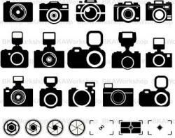 Camera clipart | Etsy