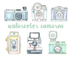 Camera Clipart - Instant Download! Camera Clip Art Photography ...
