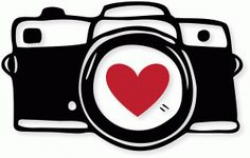 Camera clipart black and white free clipart | Cricut cut files ...