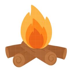 Campfire camp fire clip art free clipart images - Clipartix