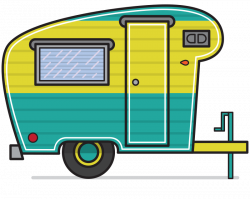 Camper Clip Art Related Keywords & Suggestions - Camper Clip Art ...