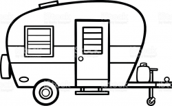 Image result for camper line art | Sewing, Needlework and ...