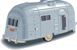 Airstream Vintage Travel Trailer Link Library! - Clipart Channel
