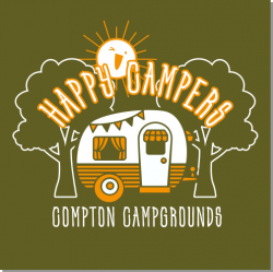 New Camping Layout and Clip Art for Custom T-shirt Design - Transfer ...