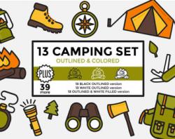 Camping graphics | Etsy