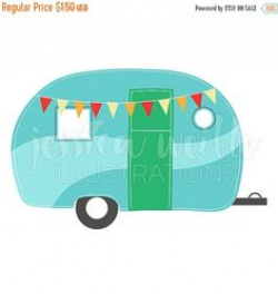 Retro camper clipart - ClipartFest | Illustration | Pinterest ...