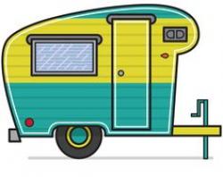 Closet Crafter: Free Vintage Camper Silhouette Design File ...