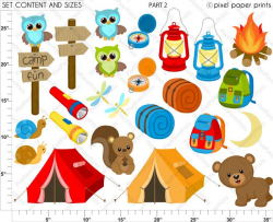 97 best Camping - ClipArt images on Pinterest | Camping clipart ...