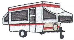 Pop Up Camper Clipart