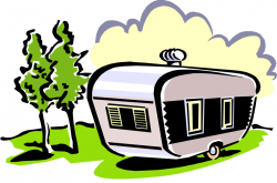 Camper Trailer Clip Art With Fantastic Styles | fakrub.com