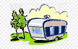 Camper Clipart Water - Caravan Park Clip Art - Png Download ...