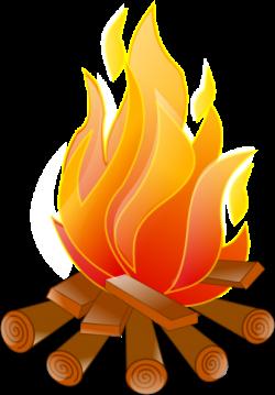 Campfire Clip Art | Campfire No Shadow clip art - vector clip art ...