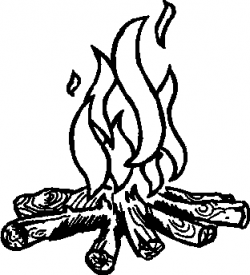 Campfire Clipart Black And White | Clipart Panda - Free Clipart Images