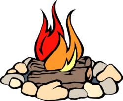Campfire Clipart - Clip Art Bay