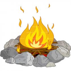 Campfire clipart 5 - Clipartix