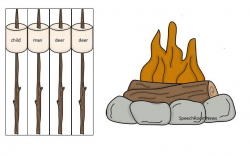 Campfire Drawing at GetDrawings.com   Free for personal use Campfire ...