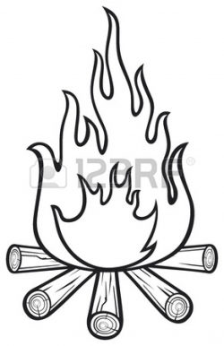 campfire Stock Vector - | Clipart Panda - Free Clipart Images