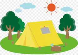 Camping Campsite Clip art - camping png download - 2340*1646 - Free ...