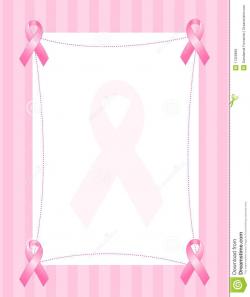Breast Cancer Ribbon Border Image Group (66+)