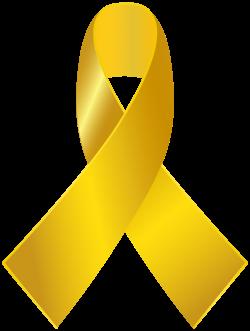 Awareness ribbon Childhood cancer Clip art - gold ribbon png ...