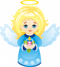 Cute Christmas Angel with Candle Clipart by joeatta78 on DeviantArt