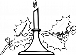 Candle Clipart Black And White | Clipart Panda - Free Clipart Images