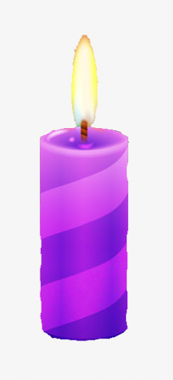 Purple Candles, Burning Candle, Lighted Candles, Candle PNG Image ...