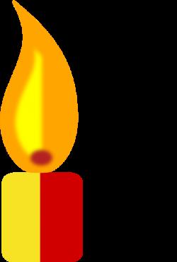 Yellow Candle Clip Art at Clker.com - vector clip art online ...