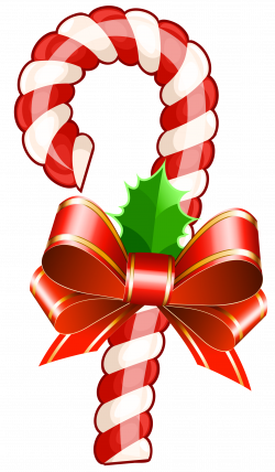 Large Transparent Christmas Candy Cane PNG Clipart | Gallery ...