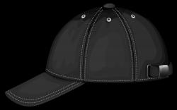 Black Baseball Cap PNG Image Clipart - Best WEB Clipart