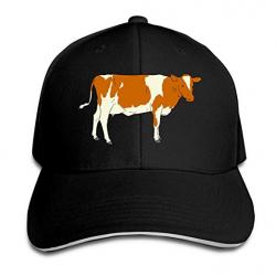 WHW45HAT Men & Women Cow Clipart Trucker Hats Baseball Cap ...