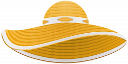 Yellow Summer Female Hat Transparent PNG Clip Art Image   Gallery ...