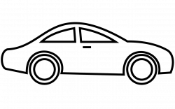 28+ Collection of Car Clipart Black And White | High quality, free ...