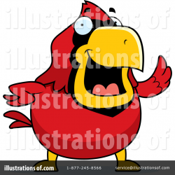 Cardinal Clipart #1049972 - Illustration by Cory Thoman
