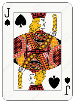 Card clipart black jack - Pencil and in color card clipart black jack