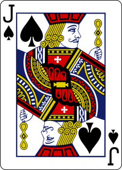 individual playing cards clipart - Clipground