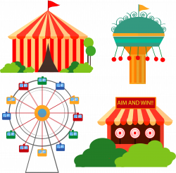 Carnival Time by @barbie40, A simple illustration of a Carnival land ...