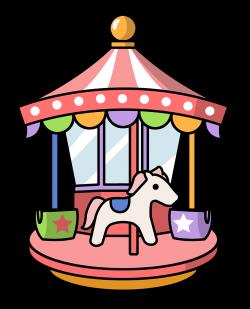 cartoon carousel clip art | Clipart Panda - Free Clipart Images