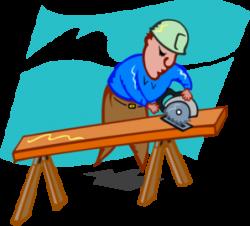Sawing Carpenter Clip Art at Clker.com - vector clip art online ...