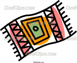 Clipart Of Carpet Rug Pencil And In Color – paberish.me