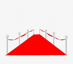 Avenue Of Stars, Leave The Material, Cartoon, Red Carpet PNG Image ...