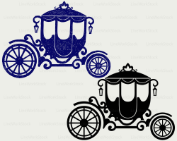Carriage svg/carriage clipart/carriage svg/wagon silhouette/carriage  cricut/carriage cut files/clip art/digital download/designs/svg