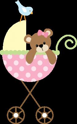 Bebê (Menino e Menina) 3 - pink stroller.png - Minus | Crafts ...