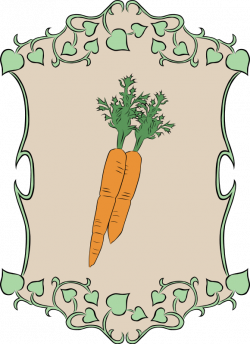 Garden Sign Carrots Clipart   Recipes Vegetables Fruit Cherries ...