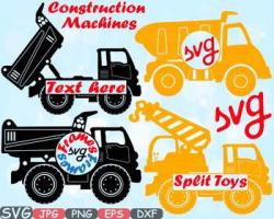 Construction Machines Circle Split Dump Trucks toy toys Cars clipart ...