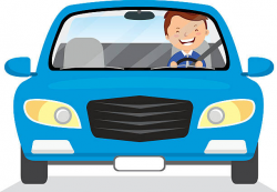 28+ Collection of Man Driving Car Clipart | High quality, free ...