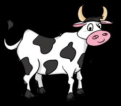 Cartoon Cow Clipart - ClipartUse