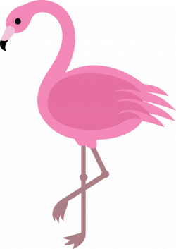 Flamingo Cartoon Clipart